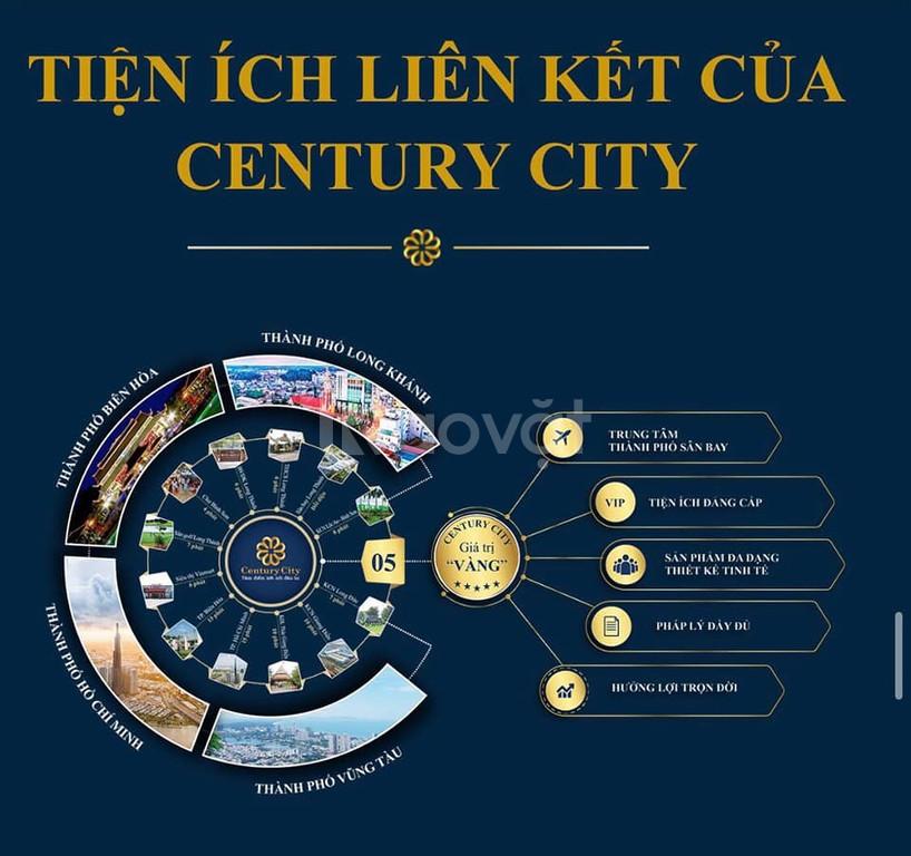 Đất nền Century City, sân bay Quốc Tế Long Thành