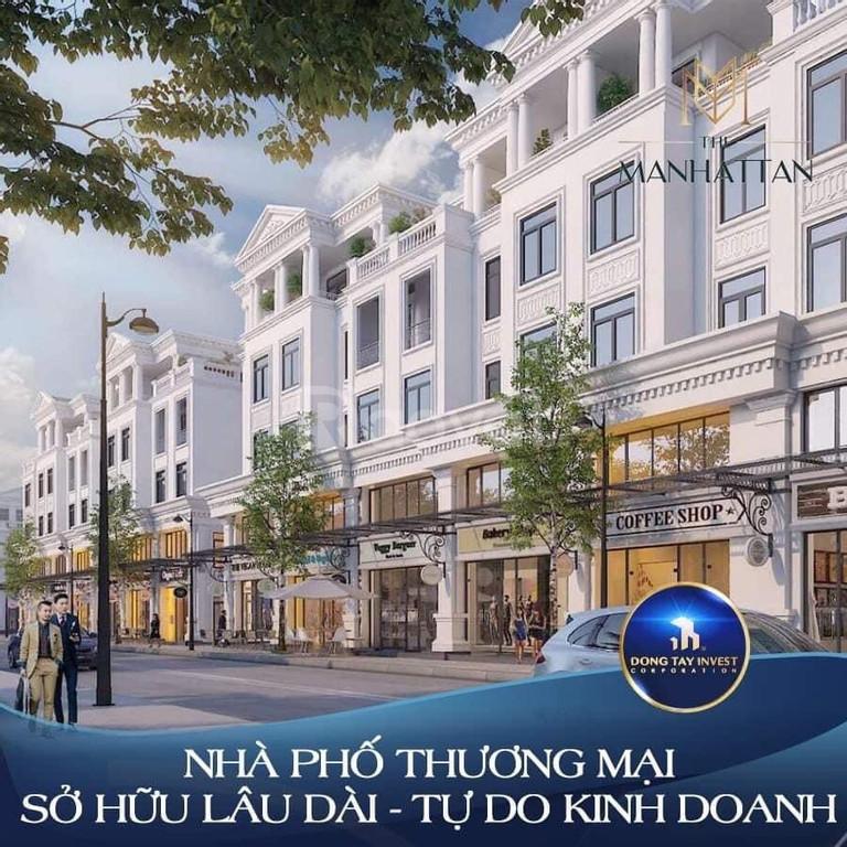 Mở bán 70 căn shophouse phân khu Manhattan vị trí trung tâm Vinhomes Q9