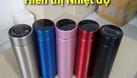 Bình giữ nhiệt hiển thị nhiệt độ giá rẻ, miễn phí in khắc logo (ảnh 1)