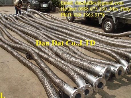 Báo giá 2307/Ống xăng dầu, Ống nối mềm xăng dầu, khớp nối mềm inox 304 (ảnh 6)