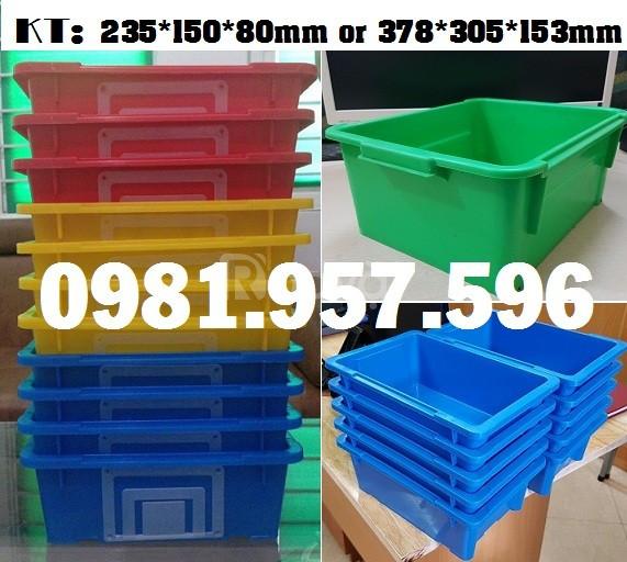 Hộp nhựa đụng phụ tùng, khay nhựa đựng linh kiện
