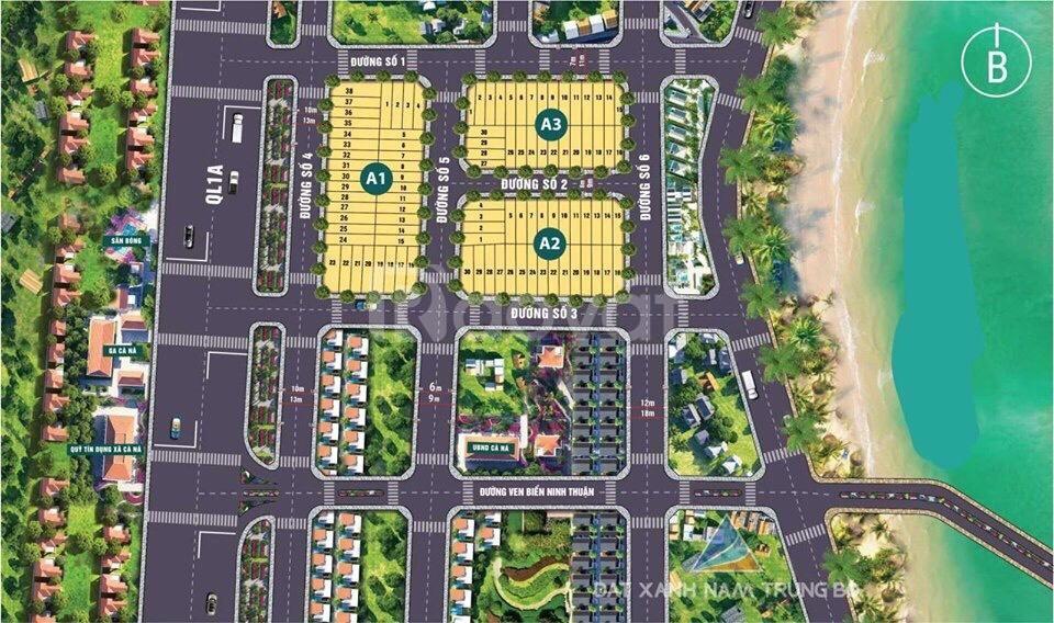 Chính chủ bán đất sổ đỏ ven Biển Cà Ná, cạnh dự án lớn của Tôn Hoa Sen