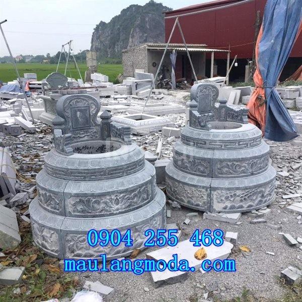 Tổng hợp các mẫu mộ đá tròn đẹp