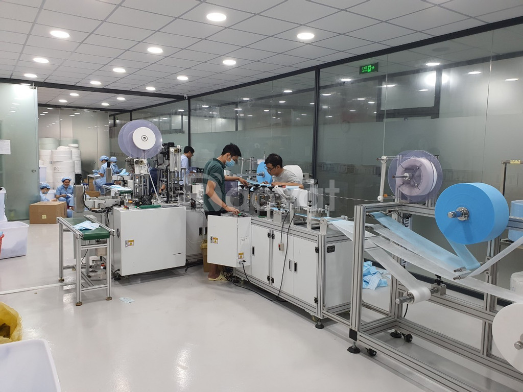 Cung cấp lắp đặt, cải tạo, căn chỉnh các dòng máy sản xuất Khẩu trang (ảnh 3)
