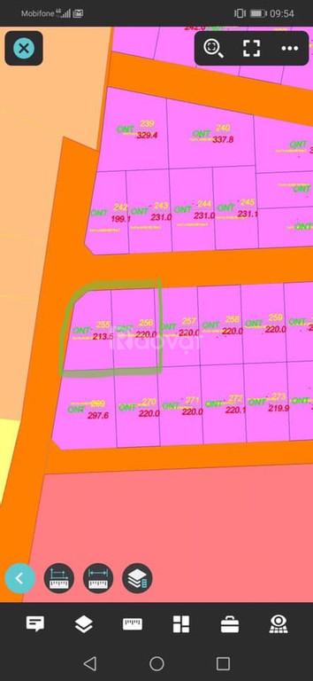 Bán đất Cam Lâm giá đầu tư - Sau lưng Trung cấp Nghề Cam Lâm