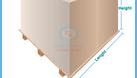Túi nhựa pe - Túi nilon cỡ lớn trumg hàng hoá, pallet, gạch (ảnh 3)