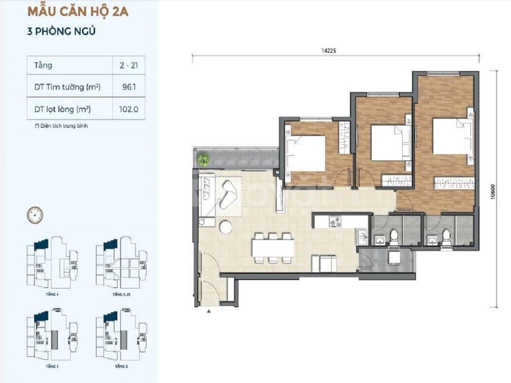 Sở hữu căn hộ nội thất Châu Âu ngay trung tâm quận 2