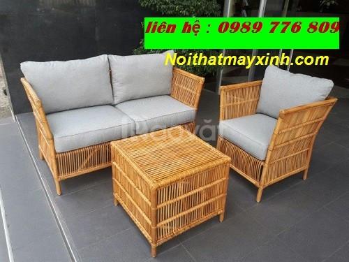 Sofa mây tre phong cách hiện đại (ảnh 7)