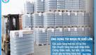 Túi nhựa pe - Túi nilon cỡ lớn trumg hàng hoá, pallet, gạch (ảnh 1)