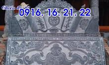 15 mẫu chiếu rồng đá nhà thờ họ bằng đá khối đẹp