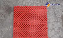 Tấm lót sàn dạng lưới tản nhiệt khảm kim cương cao 2cm tại Phan Thiết