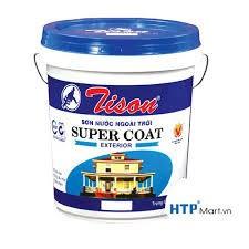 Bán sơn nước ngoại thất Tison Super Coat giá sỉ cho đại lý, công trình