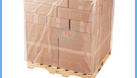 Túi nhựa pe - Túi nilon cỡ lớn trumg hàng hoá, pallet, gạch (ảnh 6)