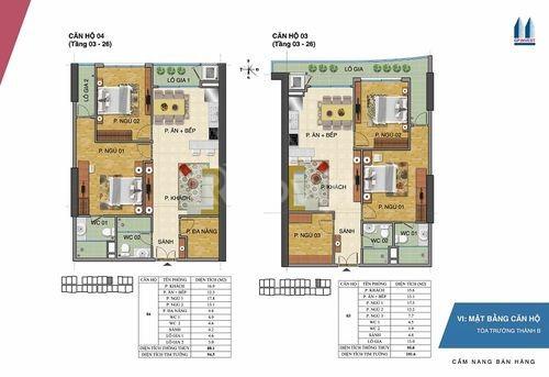 Bán gấp căn hộ Tràng An 2PN CT2B giá rẻ
