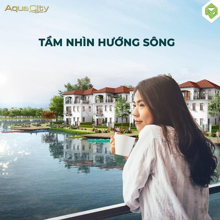 Shophouse Aqua City Đồng Nai chiết khấu 16% view sông