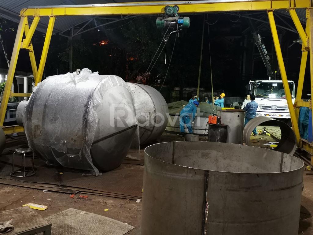 Chế tạo thiết bị thùng chứa, bồn bể thiết bị phi tiêu chuẩn