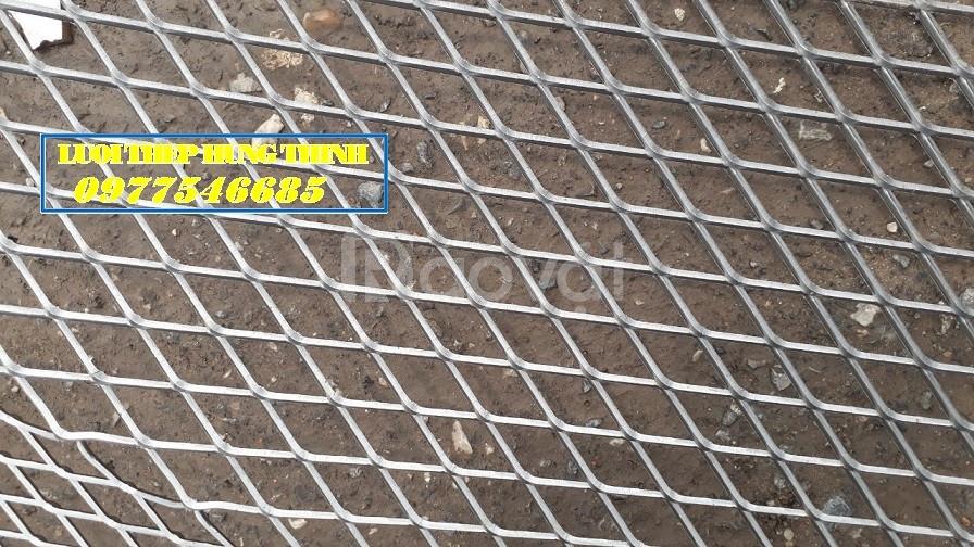 Lưới kéo gián, lưới bén hình thoi, lưới thép trang trí