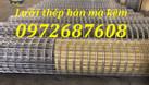 Lưới thép hàn D2 ô25*25, ô50*50 mạ kẽm  (ảnh 3)