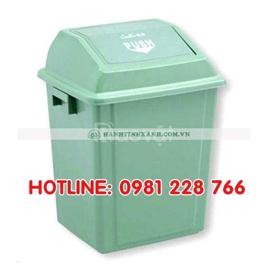 Báo giá thùng đựng rác nắp bập bênh hàng Việt Nam