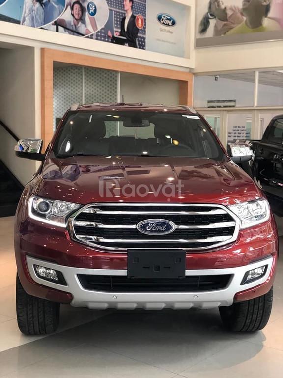 Cần bán gấp xe Ford Everest Bi-Tourbo 2020 (ảnh 3)