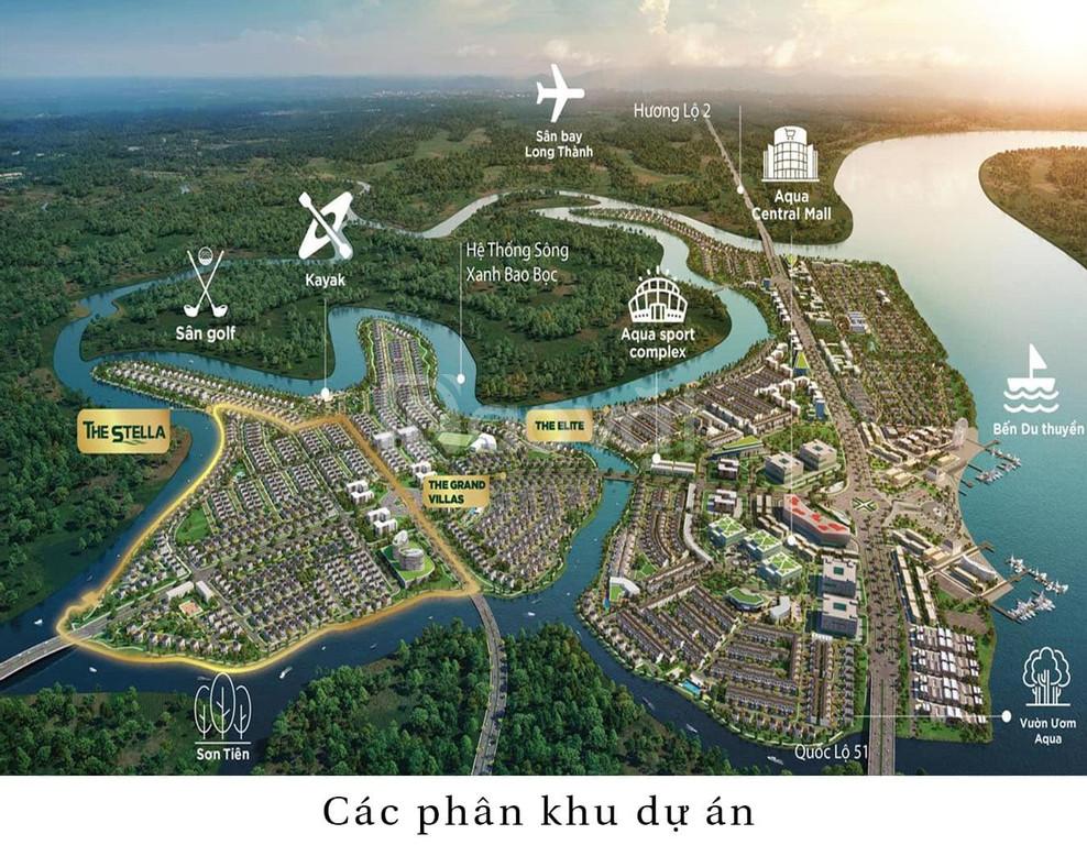 Aqua City Đồng Nai chiết khấu lên tới 4 tỷ biệt thự view sông.