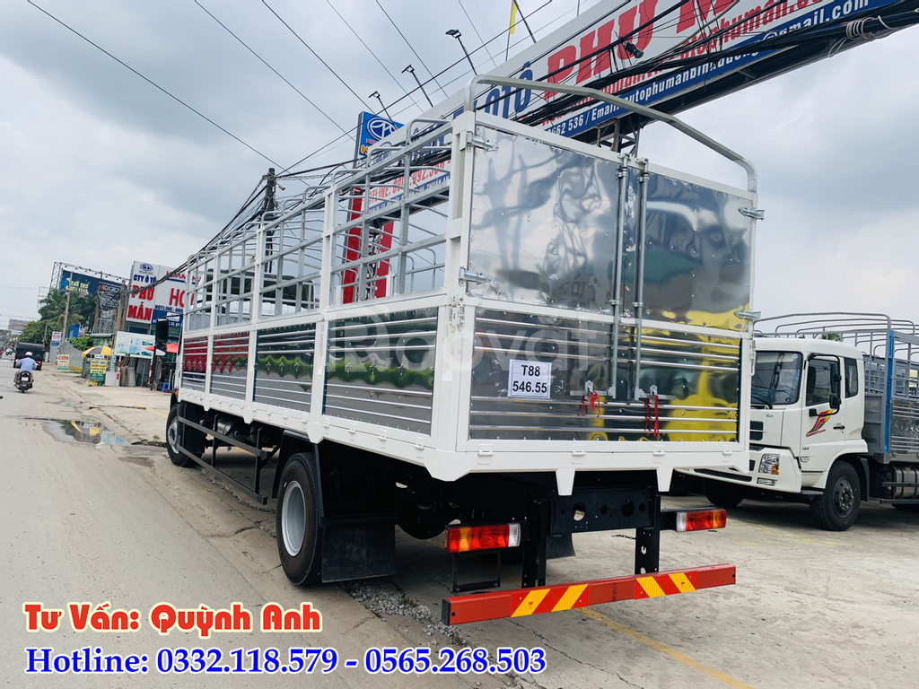 Xe tải FAW 7 tấn 8 thùng dài 8 mét