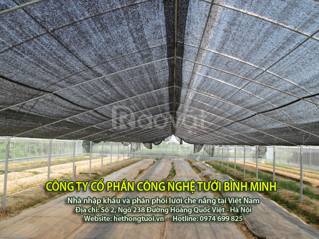 Lưới che nắng, lợi ích sử dụng lưới che nắng, lưới che nắng