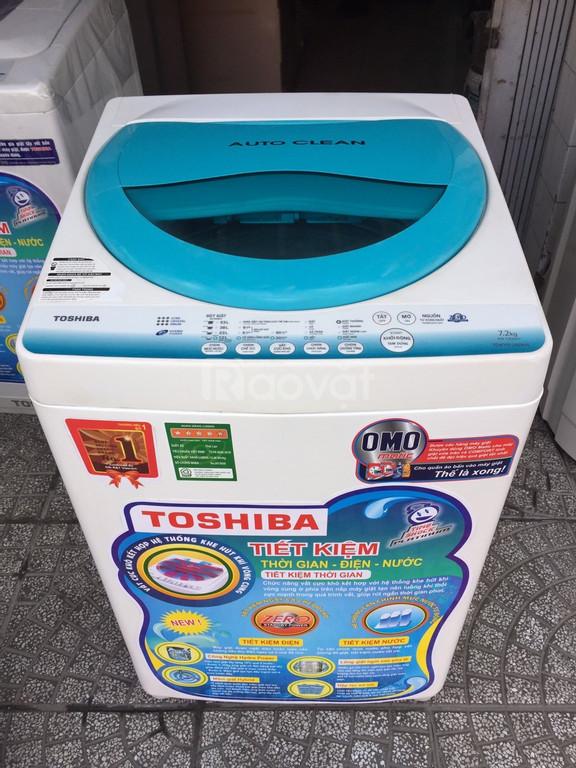 Máy giặt Toshiba 7.2 kg tiết kiệm điện, nước (ảnh 1)