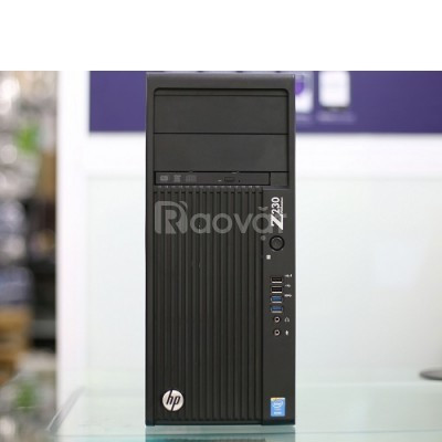 Máy tính workstation hp Z230 tower core i7 cho văn phòng (ảnh 1)