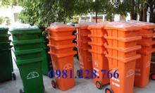 Nên mua thùng rác 120L HDPE hay Composite