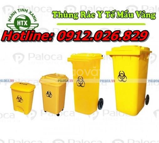 Địa chỉ bán thùng rác nhựa màu vàng giá rẻ