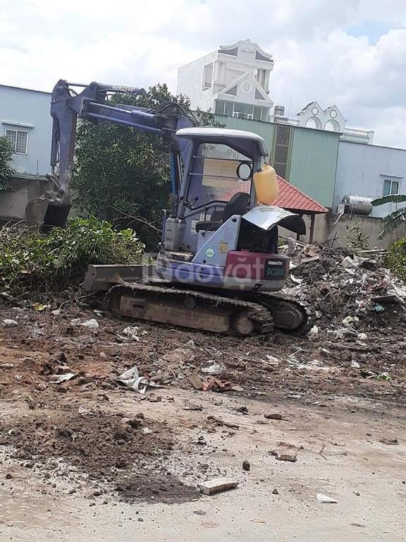 Dịch vụ đào móng, phá dỡ nhà, cho thuê xe cơ giới công trình (ảnh 1)