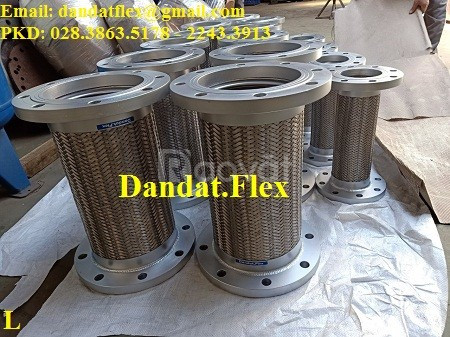 Cung cấp áp suất làm việc cho khớp nối mềm inox, khớp chống rung inox
