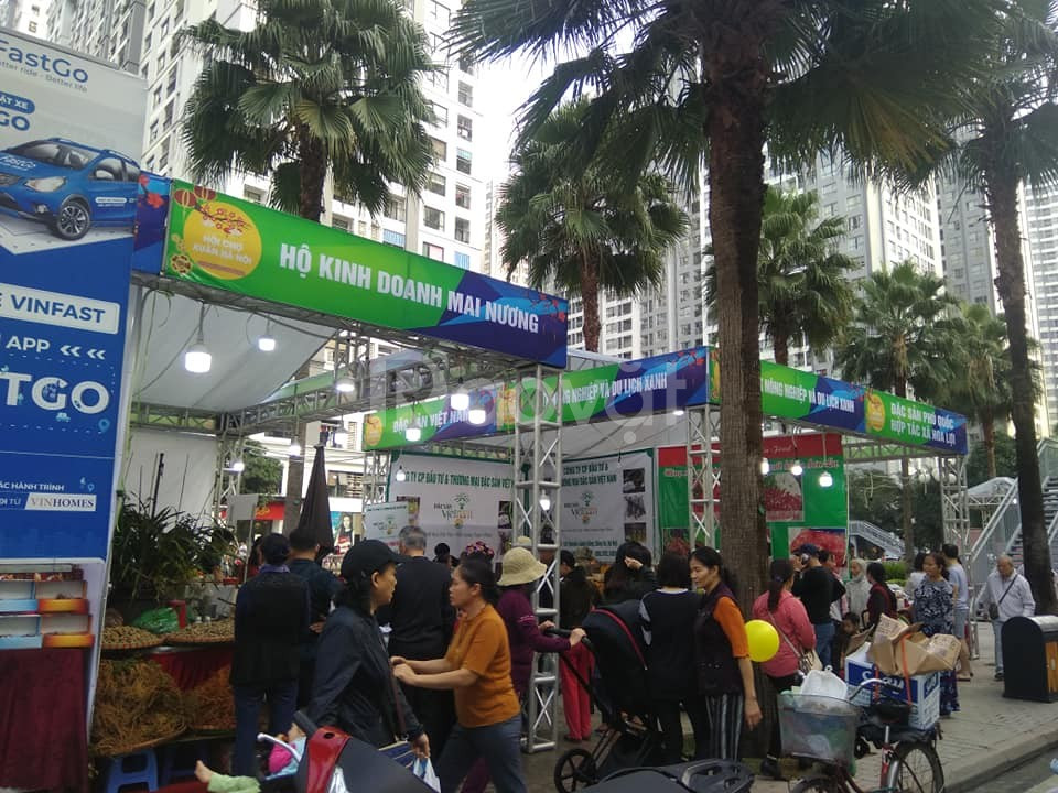 Hội chợ Kích cầu tiêu dùng tết trung thu 2020 tại KĐT Times City (ảnh 4)