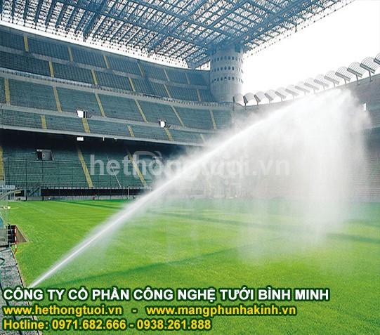 Vòi phun tưới cỏ, vòi phun tưới sân vận động, vòi phun tưới sân bóng