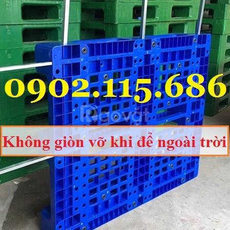 Pallet nhựa công nghiệp, pallet nhựa giá rẻ, pallet nhựa kê hàng, pall