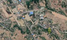 Lô đất gần uỷ ban Nghĩa Thương, mặt tiền đường chính hiện hữu.