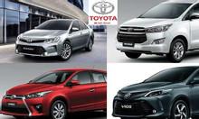 Bảng giá xe toyota mới nhất 2020 giảm tiền mặt trực tiếp