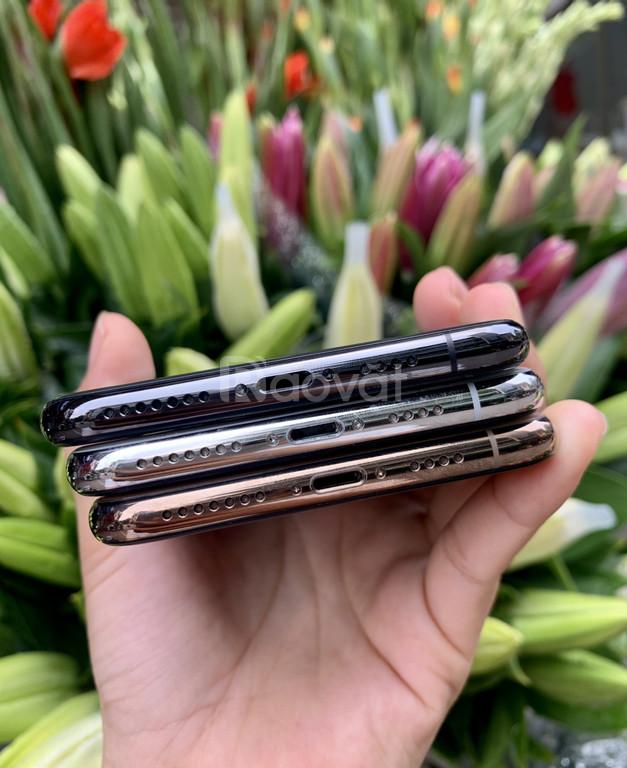 Iphone XSMAX lock 64gb đẹp, zin áp, pin 9x-100%, BH Apple dài