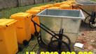 Thông số kỹ thuật cần biết rõ khi mua bán xe đẩy rác tôn 400L  (ảnh 3)
