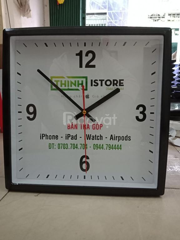 Đồng hồ chất lượng in logo làm quảng cáo tại Quảng Ngãi