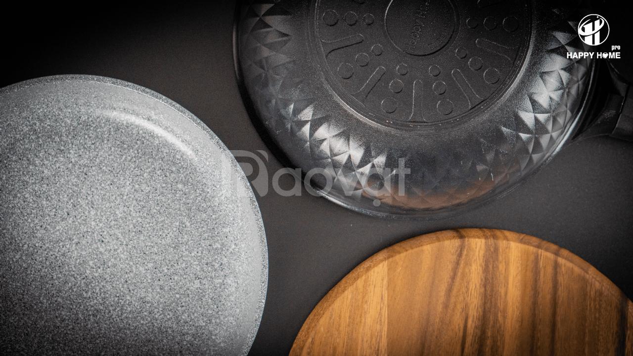Chảo chiên chống dính Crystal Ceramic - Happy Home Pro  (ảnh 6)