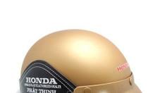 In logo quảng cáo lên mũ bảo hiểm làm quà tặng tại Huế