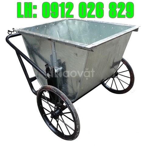 Thông số kỹ thuật cần biết rõ khi mua bán xe đẩy rác tôn 400L  (ảnh 1)