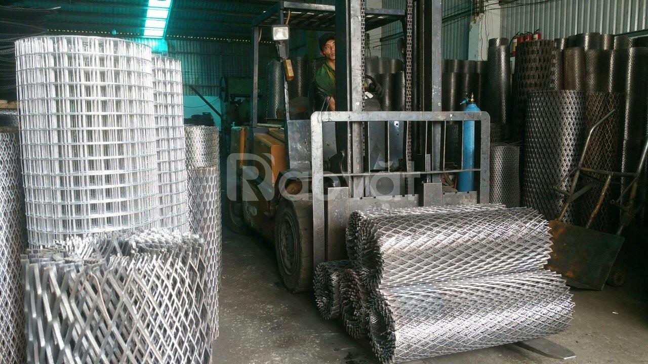 Lưới thép hình thoi, lưới thép kéo giãn, lưới mắt cáo D2 a20x40