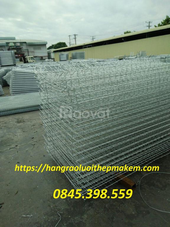 Lưới thép hàng rào, hàng rào lưới thép mạ kẽm