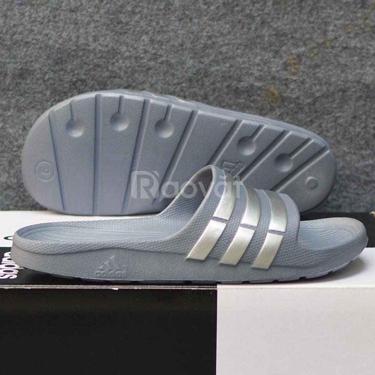 Adidas Duramo màu xám sọc bạc