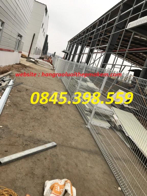Hàng rào mạ kẽm, hàng rào lưới thép, hàng rào sơn tính điện có sẵn