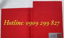 Nhận đặt quyển menu bìa da a4, nơi làm menu bìa da in logo