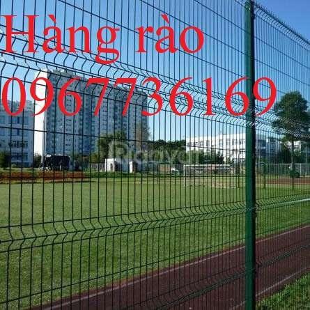 Hàng rào thép, hàng rào lưới hàn, hàng rào khu công nghiệp